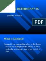 Demand,Determinents