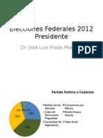 Elecciones Federales 2012Presidente