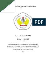 Resume Pengantar Pendidikan