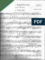Finzi G 5 Bagatelles Clarinet