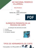 DISEÑO Corte Ortogonal CLASE 6 1