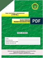 Kumpulan Contoh Soal Tpa Atkp Surabaya | Kumpulan Laporan ...