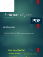 Structure of Joint