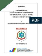 2015 Ksb - Proposal Sippd - Musren Rkpd