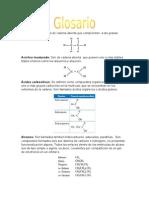 Glosario de Quimica