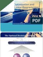 Kuliah 11 Optimization and Linear Programming
