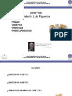 Costos Precios MO;MP;CIF