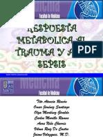 Respuesta Metabolic A Al Trauma y Sepsis
