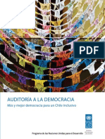 Informe Auditoria a La Democracia