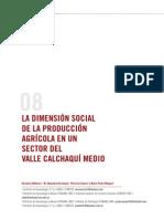 Arqueologia Argentina - La Dimensión Social de La Produccion en Un Sector Del Valle Calchaqui