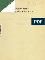 Diccionario de Habla Chilena