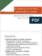 Libertad Sindical en El Perú