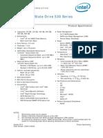 Ssd 530 Sata Specification