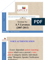 Voice Authentication Lavanya1