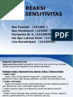 Ppt Reaksi Hipersensitivitas (1)