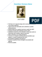 Fichero de Presidentes de Mexico 1917-2015