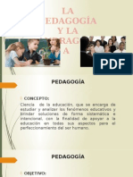 Pedagogía y Andragogia