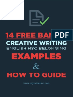 How to get a Band 6 in HSC English Creative Writing