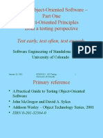 Good Object Oriented Testing Slides