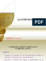Sesion i y II Comunicacion
