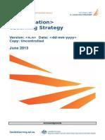 E-Learning Strategy Model