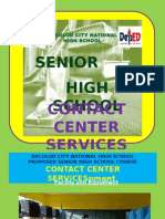 Contact Center Services Curriculum (Senior High School)