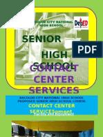 Contact Center Services Curriculum (Senior High School)