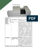 Espectrofotometro HP 8452 Agilent
