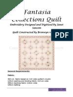 JS084_Fantasia Collection 1 Quilt - InSTRUCTIONS