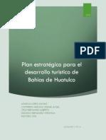 Plan estratégico para el desarrollo turístico de Bahías de Huatulco