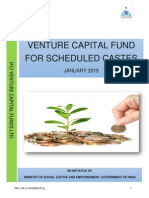 Download Boucher of Venture Capital Fund for Scheduled Castes in English