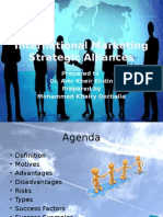 International Marketing Strategic Alliances