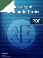 AAE - Endodontic Glossary