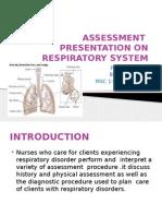 Ppt on Respiratory Assessment
