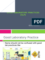 Good Laboratory Practices (GLP)