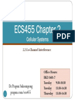 ECS455!2!2 - Co-Channel Interference