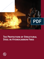 Protection of Structural Steel in Hydrocarbon Fires