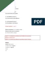 Mathématiques - chapitre 1