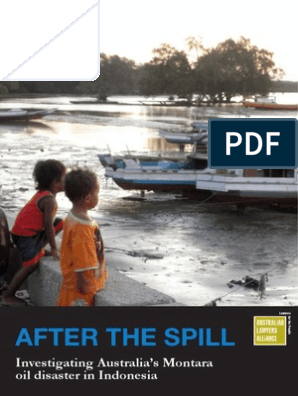 Montara Oil Spill Case | Bp | Disaster And Accident