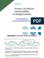 10 Informes y 10 Metricas de Google Analytics