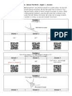 QR Code Defuse the Bomb - Angles 1 - Answers