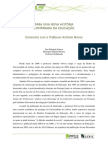PARA UMA NOVA HISTÓRIA Comparada Da Educação António Nóvoa