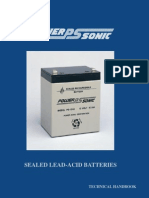 Power Sonic Sealed Lead Acid Manual