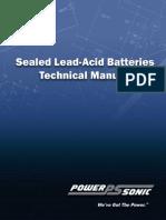 Technical Manua pb batteryi