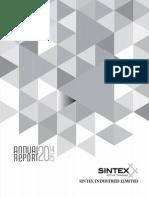Sintex Annual Report 2014-15 & AGM Notice