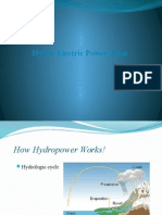 Hydro Electric Power(Ppt)