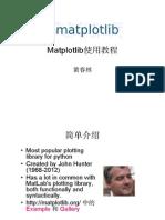 Matplotlib Slides