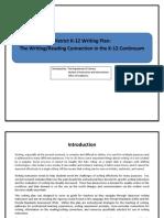 district writing plan