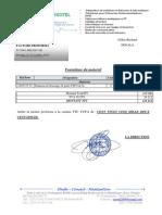 Facture Proforma Gilles-richard