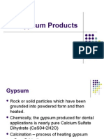 Lecture 2 - Gypsum Products.ppt